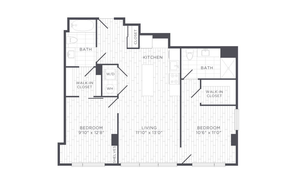 E1 Floor Plan Layout