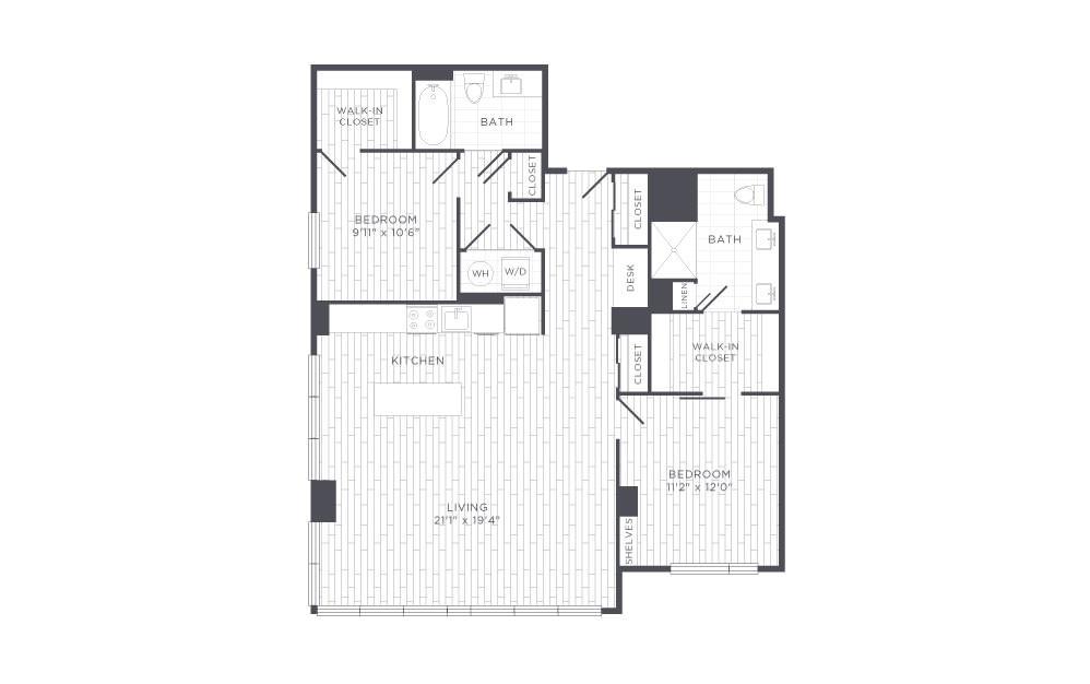F1 Floor Plan Layout