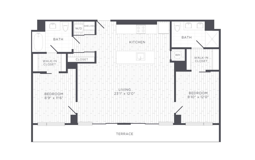 F2 Floor Plan Layout